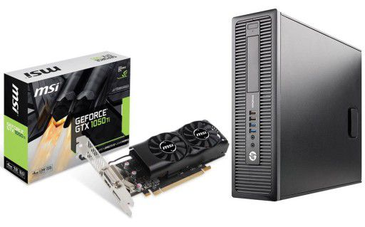 HP 800g1 sff gaming, Dell Monitor 2217