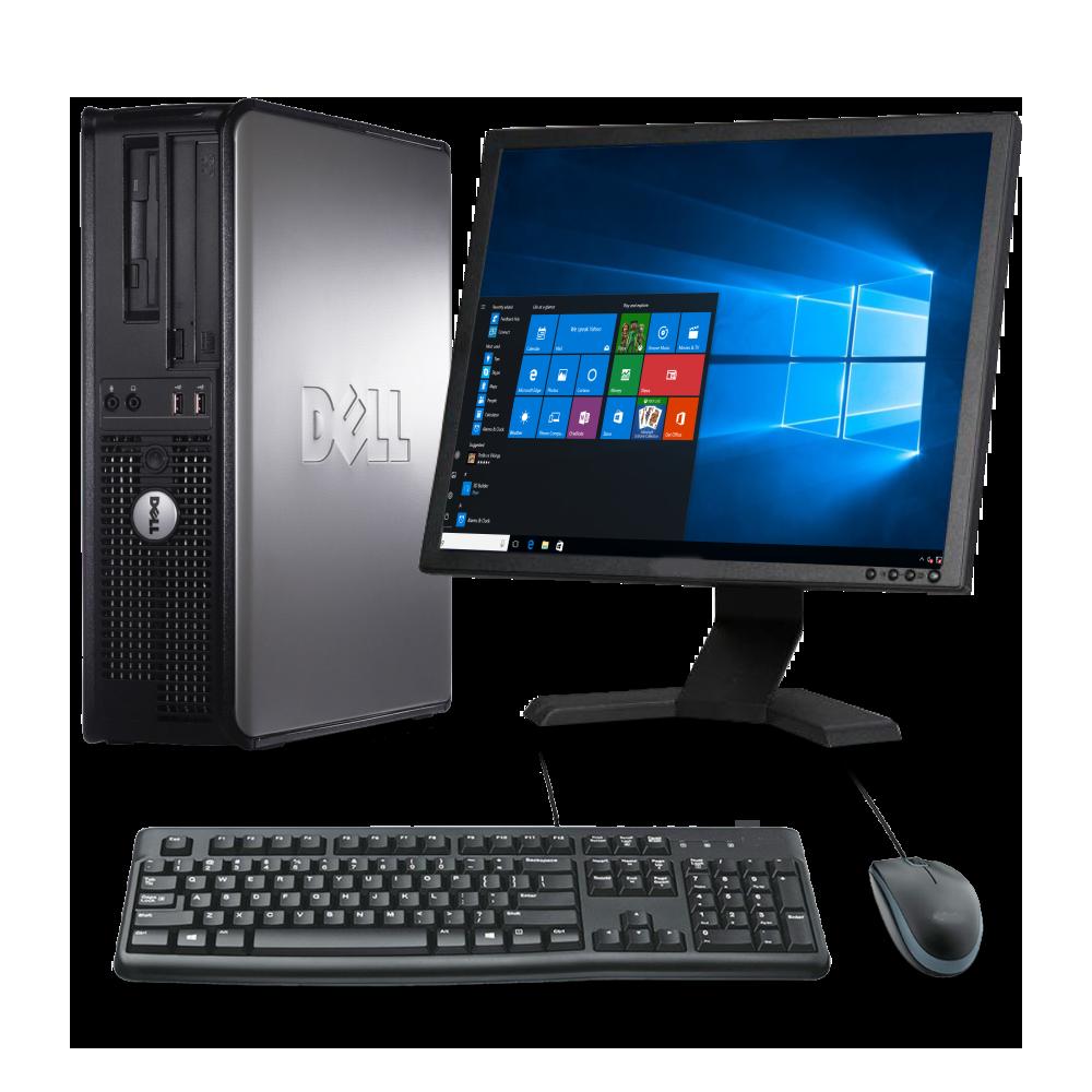 PC SET Dell Optiplex 755, Οθόνη 19'', ενσύρματο πληκτρολόγιο & ποντίκι