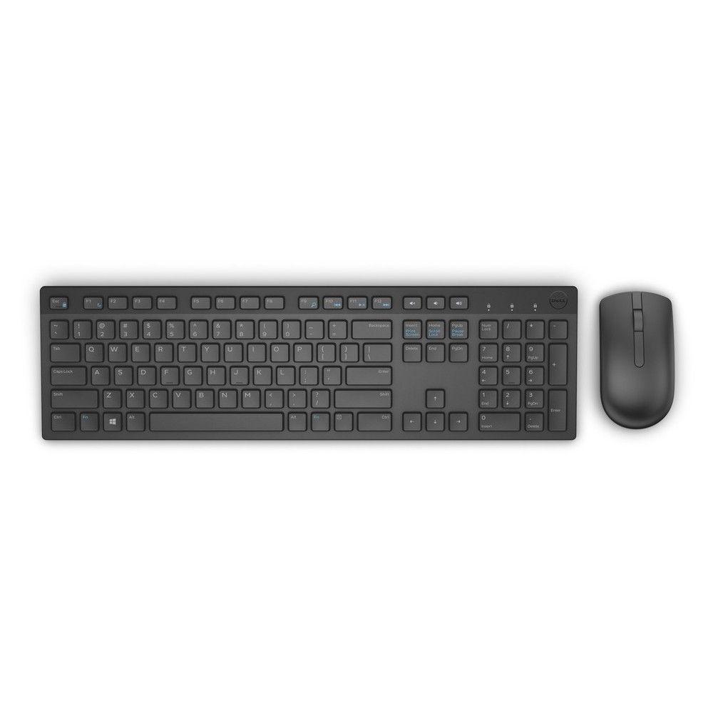 Dell KM636 Greek Wireless Black Πληκτρολόγιο & Ποντίκι