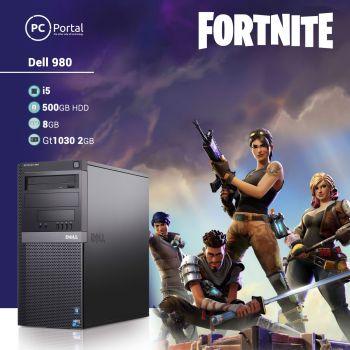 Gaming pc Dell 980 gt1030
