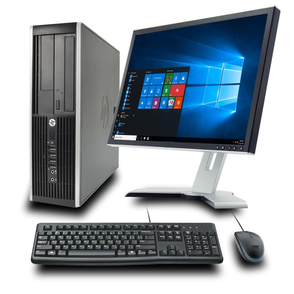 PC SET HP 8200 SFF, Οθόνη 22'', ενσύρματο πληκτρολόγιο & ποντίκι